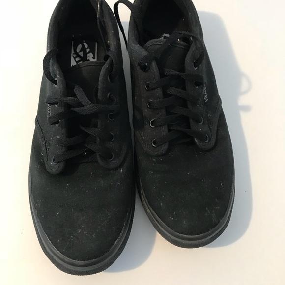 diversificado en envases selección premium fabricación hábil Zapatos negros vans casuales originales